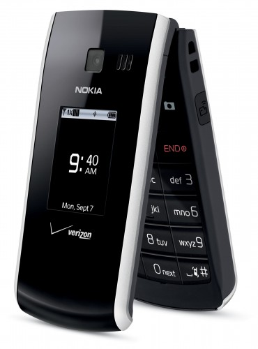 Nokia 2705 Shade Front Angled Slightly Open
