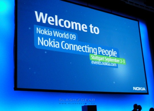 SlashGear at Nokia World