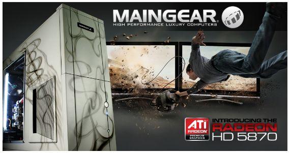 Maingear add ATI Radeon HD 5870 to gaming line-up