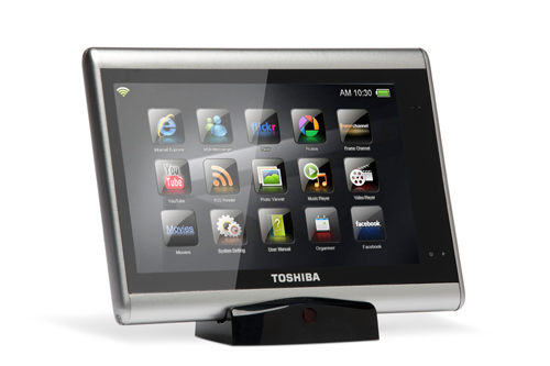 Toshiba's JounE Touch Is a High-End MID Announced Today