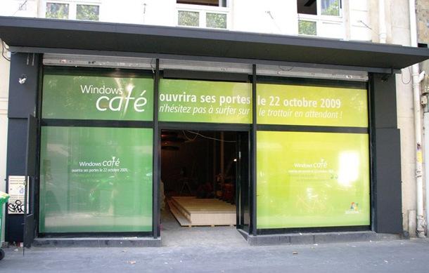 Microsoft set to open Windows Café in Paris