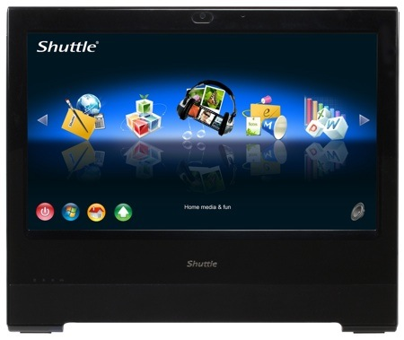 Shuttle X500V Is An All-In-One Touchscreen PC Preloaded With Linux