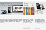 Microsoft Zune Software Update Coming September 15