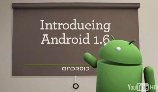 Android Dev Phone gets OS 1.6 firmware update