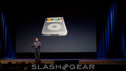 iPod classic gets 160GB upgrade, still $249