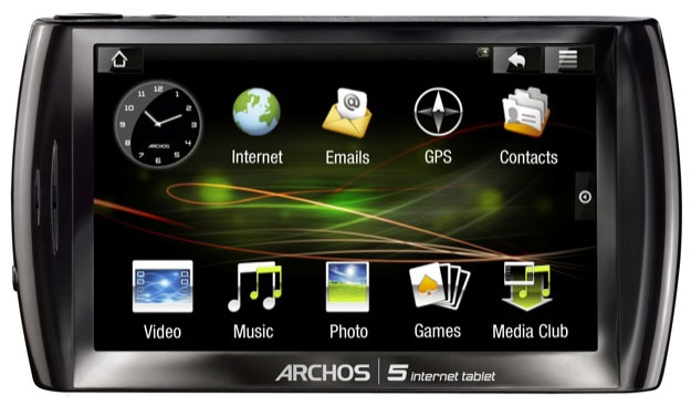 Archos 5 Internet Tablet gets official