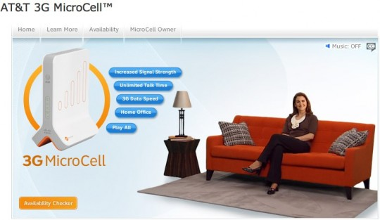 AT&T 3G MicroCell femtocell revealed: big coverage, big price