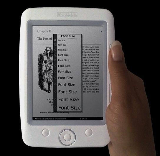 Bookeen Cybook Opus compact ebook reader hits shelves