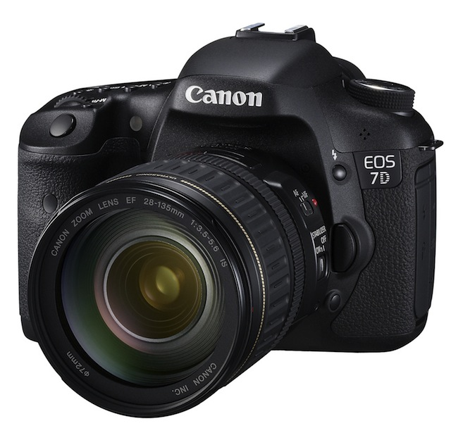 Canon EOS 7D DSLR gets official: $1.7k from September