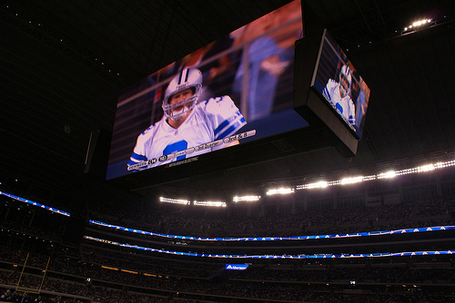 Dallas Cowboy stadium gets into Guinness record book