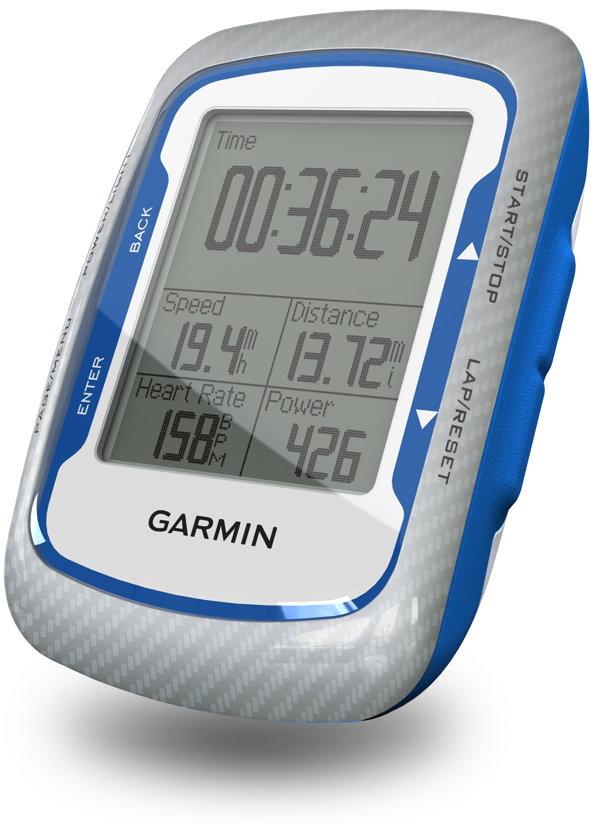 Garmin shows off Edge 500 GPS for cyclists