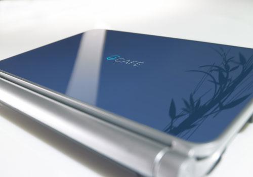 Hercules unveils eCafe EC-1000W netbook