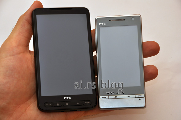 HTC Leo in wild: capacitive touchscreen confirmed [Update: Video]