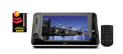 iLuv gets official with i1166 digital media player