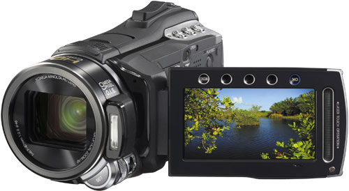 JVC offers video enthusiasts a new full HD Everio GZ-HM400 camcorder
