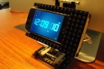Lego iPhone dock spins and is geeky cool