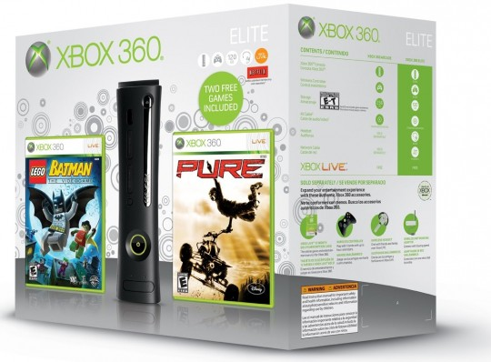 Microsoft Xbox 360 holiday bundles announced