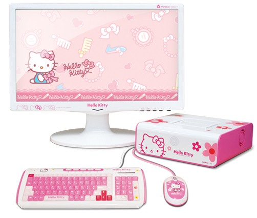 Moneaul MiNEW A10 nettop gets Hello Kitty treatment