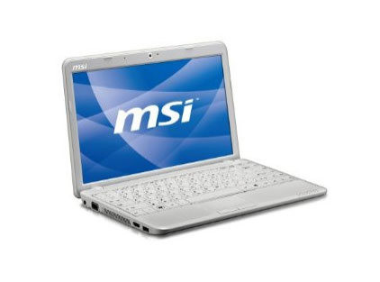 MSI U210 notebook now available in the U.S.