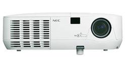 NEC unveils NP110 and NP215 projectors