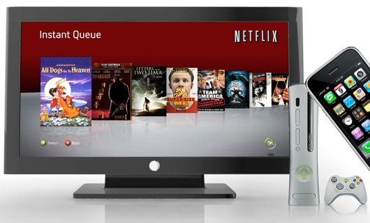 Netflix eyeing other consoles, Blu-ray players, HDTVs; iPhone in future