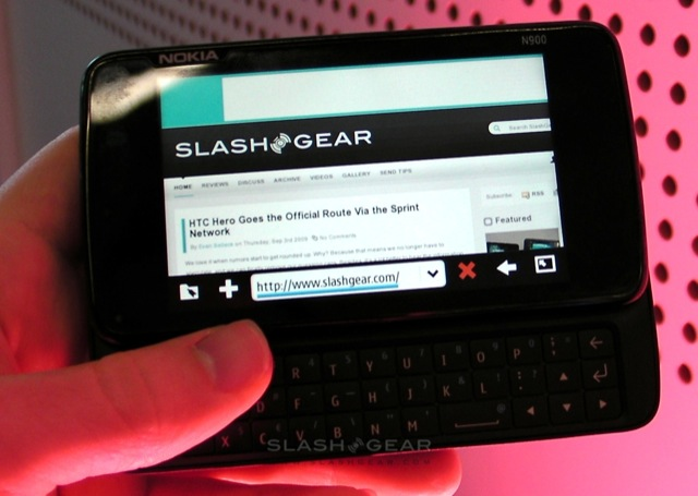 Nokia N900 browser demo & first-impressions [Video]