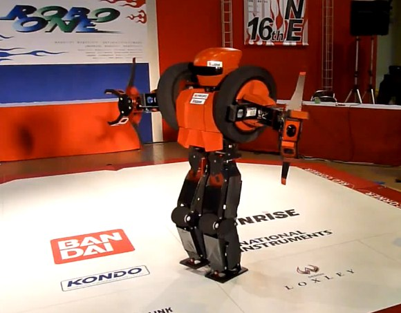 OmniZero.9 robot storms to success in Japanese contest [Video]
