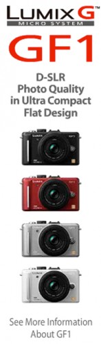 Panasonic Lumix GF1 gets ad reveal