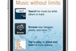 Rhapsody for iPhone appears in App Store