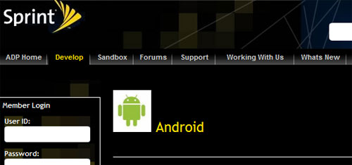 Sprint adds support for Android devs to Sprint Developer Website