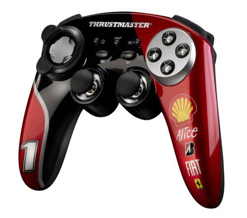 Thrustmaster unveils exclusive Ferrari gamepads