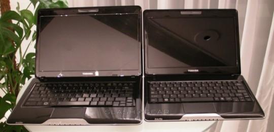 Toshiba Satellite T115 e T135