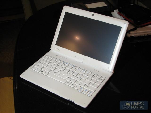 Viliv S10 touchscreen Windows 7 netbook: 10hrs runtime
