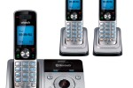 VTech DS6321-3 cordless phone merges landline and cellular