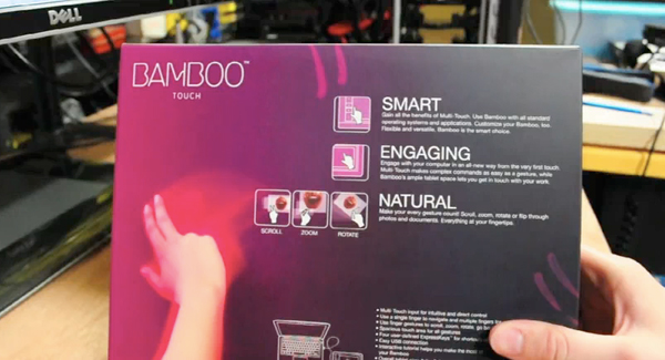 Wacom Bamboo Touch multitouch tablet sold early, video reviewed
