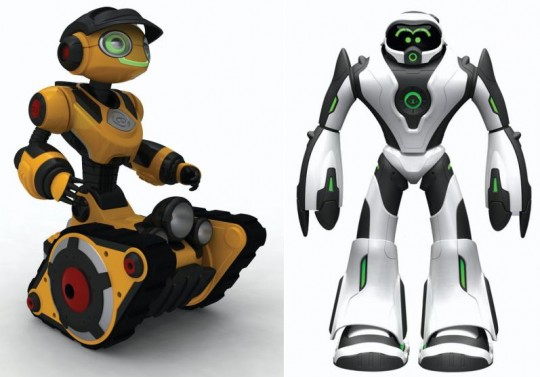 WowWee Roborover and Joebot robots revealed