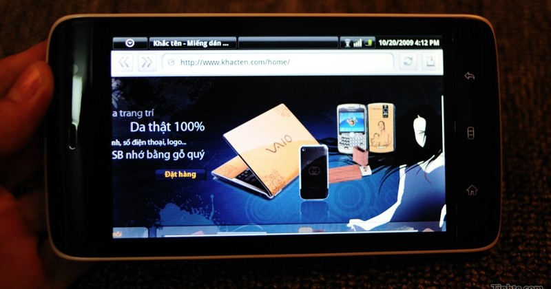Dell Streak 5-inch 3G Android MID leaks [Update: Video!]