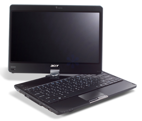 Acer Aspire Timeline 1820p multitouch Windows 7 tablet leaks