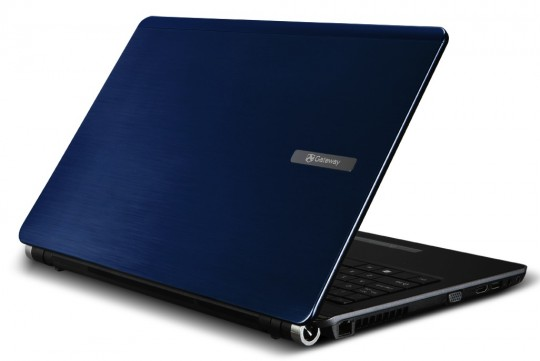 Gateway EC5409u notebook in Pacific Blue