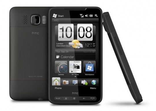 HTC HD2 Front  Back  Right 10021 540x386
