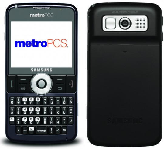 MetroPCS Samsung Code SCH-i220 lands with WinMo 6.1… wait, 6.1?