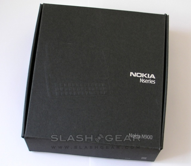 Nokia N900 video unboxing