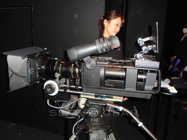 Sony HFR Comfort-3D single-lens 240fps camera video demo