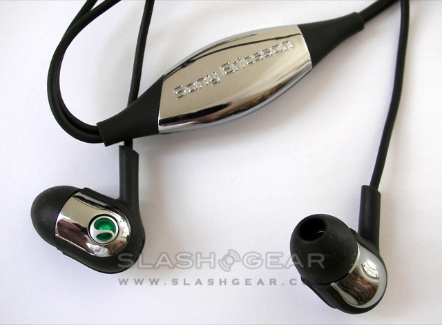 Sony Ericsson MH907 SensMe headphones review