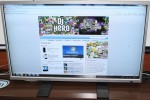 Albatron 42-inch multitouch display gets tested [Video]