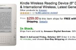 Amazon axe US-only Kindle, international Kindle now $259