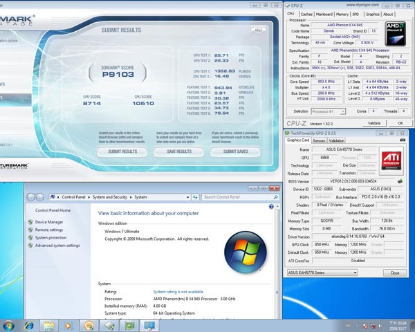 Benchmarks for Asus ATI HD 5770 video card leak