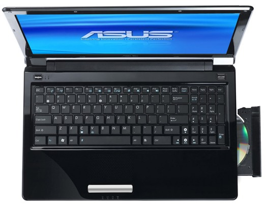 ASUS UL30, UL50AG and UL50VG notebooks: up to 12hrs runtime