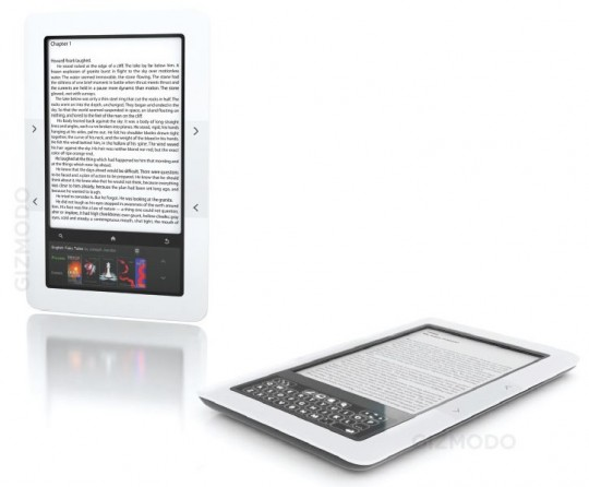 Barnes and Noble Nook dual-display ebook reader outed: $259 this week