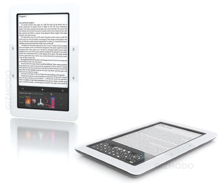 Barnes & Noble preparing dual-display ebook reader? E-Ink and color multitouch tipped